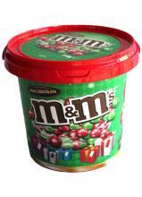 M&Ms710gRednGreen Bucket
